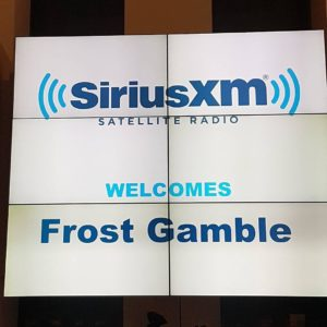 SiriusXM welcomes Frost Gamble